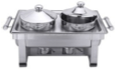 Chafing Dish Suppenstation